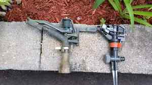 Solid Brass Rain Bird Impact Sprinkler Vintage Garden West Island Greater Montréal image 3
