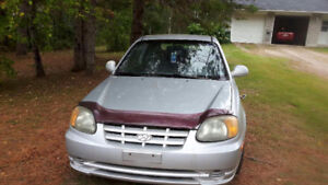 2004 Hyundai Accent Hatchback
