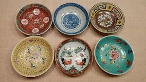 Various Chinese vintage dishes