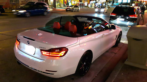 By  owner 2014 convertible bmw 428i X drive Navi only 35km