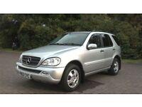 2002 Mercedes ML 320 Petrol+LPG Gas Auto Silver in Good Condition!!!