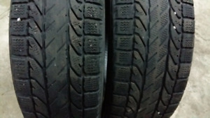 WINTER TIRES  185/60/r15  --  195/65/r15