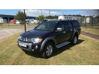 2007 07 PLATE MITSUBISHI L200 DIAMOND D4-D AUTO 4X4 D-CAB PICK UP