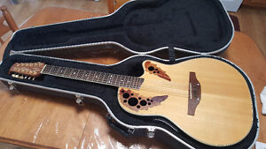 12 String Ovation CS245 Acoustic electric guitar (SOLD)
