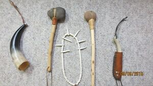 Replica Stone Hammers, Knife and Beads