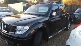 2008 stunning Nissan Navara 2.5dCi Long Way Down 4x4 pick up truck fsh inc vat