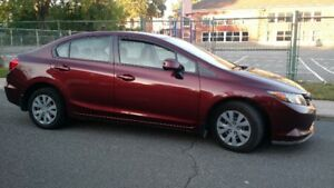 2012 Honda Civic Berline LX TOUTE EQUIPEE, BLUETOOTH ...
