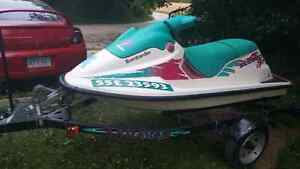 1995 seadoo sp 580 cc with trailer for sale Windsor Region Ontario image 4