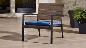 Crate and Barrel Rocha II Patio/Lounge Outdoor Chair w/ Cushion