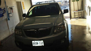 2008 Mazda Tribute, Limited Edition, Black Leather, AWD