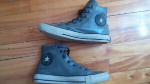 Waterproof converse hightops...7.5 But fits like an 8