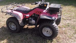 2 ATV'S AVAILABLE FOR SALE - HONDA TRX 350 4X4