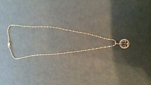 "gold necklace - 16"" chain"