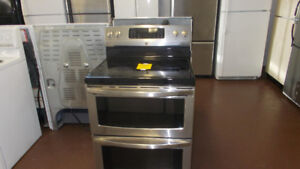 Double oven stainless stove made by kenmore. $799.
