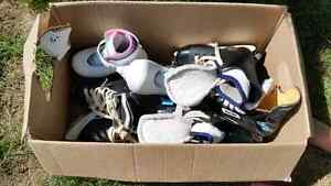 Children's assorted skates