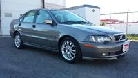 2004 Volvo S40 LOADED * LEATHER * SUNROOF * CERTIFIED $3995