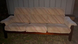 Classic Wooden Ikea Couch