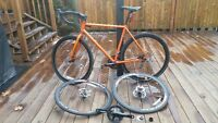 2014 Raleigh Furley with upgrade and 2 wheelsets + parts