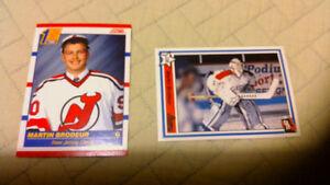 Martin Brodeur rc & junior card new price