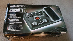 Zoom G2.1u Guitar Effects Pedal