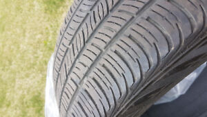 Used 225/45/18 Continental ContiProContact SSR Tires - Set of 4