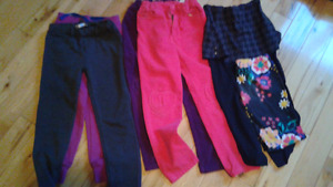 Lot pantalon filles 7andls