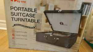 Portable Suitcase Turntable!