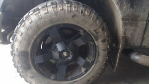 Winter tires and rims for sale!
