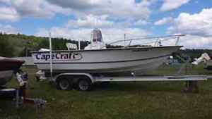 2001 Cape Craft w/115 Johnson Reduced by a $1000.00