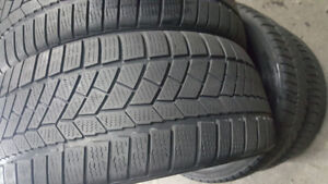 4X PNEUS D'HIVER/ WINTER (RUN FLAT) CONTINENTAL  225/45/R18 A500
