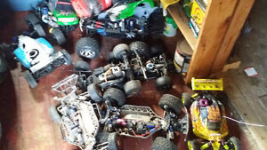 Rc nitro electric traxxas hpi parts