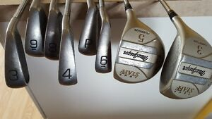 Spalding and McGregor golf clubs $10 Each or $40 for all 8