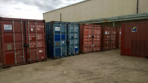 Used 20ft Shipping Containers - Get ready for Winter!