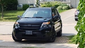 Reduced for Urgent Sale 2013 Ford Explorer Super low mileage.