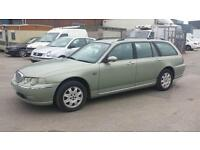 Rover 75 Tourer 2.0 CDT 1950cc Club ESTATE - 2002 52-REG - 6 MONTHS MOT