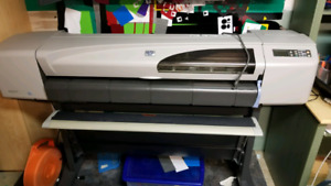 "42"" Hp design jet 500 large format inkjet printer / plotter"