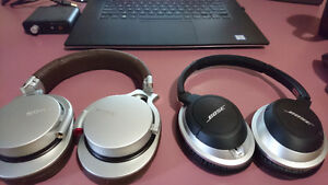 Selling SONY MDR 1RMKII and BOSE AE2