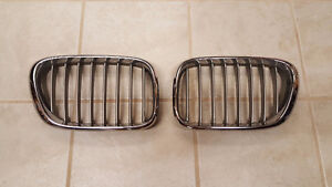 BMW X5 COMPLETE 2003 E53 CHROMED FRONT & SILVER FRONT GRILLE