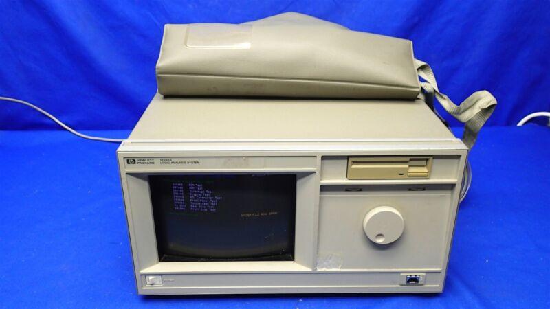 HP 16500A LOGIC ANALYSIS SYSTEM w/16531A 16530A 16510A 16515A