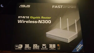 Like-New Asus RT-N16 WiFi router