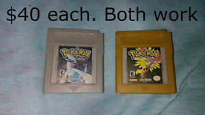 Pokemon Original Gold and Silver version (works great)