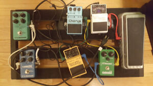 Pedalboard Clearout