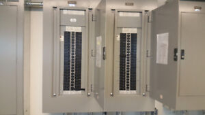 CIRCUIT BREAKERS AND PANEL COMPLTE