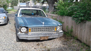 1977 Chevy Nova Sedan. Project car
