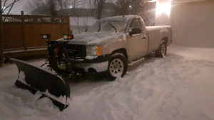 2007 GMC  Sierra 1500 with (or without) plow - low kms