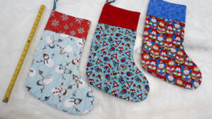 Christmas Stockings, quilted