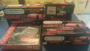 Retro Video Game Systems COMPLETE IN BOX