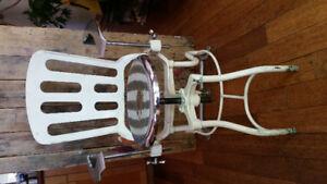 Industrial machine age dental chair