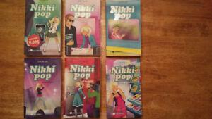 6 ROMANS DE NIKKI POP
