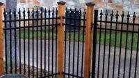 WELDING. - FABRICATING - FENCES - GATES